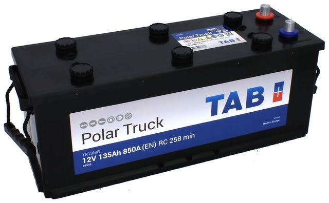 135 Ah Startbatteri TAB, TR13M