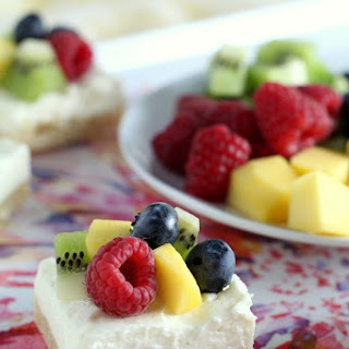 Fruit Cheesecake Bars