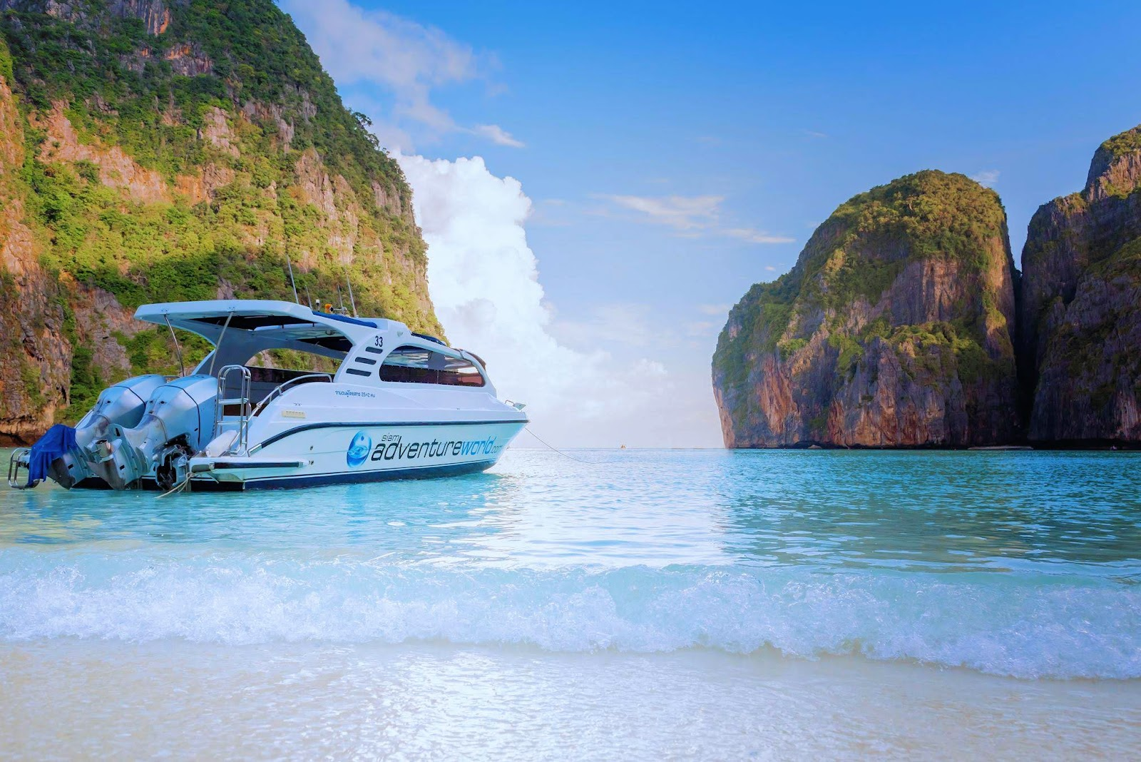 Early Bird Phi Phi X-Large Tour by Siam Adventure World from Phuket