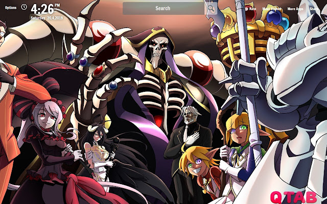 Overlord New Tab Overlord Wallpapers