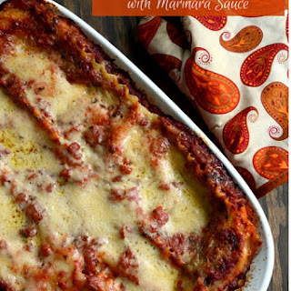 Marinara Sauce Lasagna Recipes