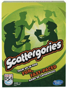 Hasbro Scattergories Board Game