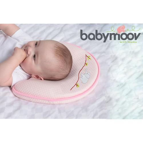 Gối cao su non Babymoov chống méo đầu cho bé - GCSN