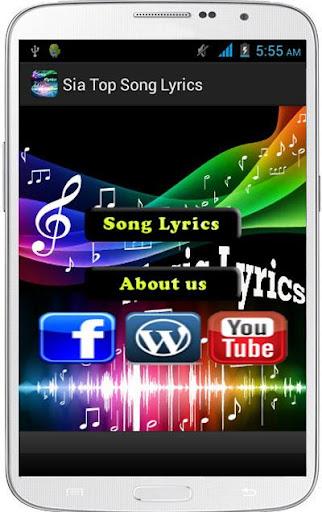 Sia Top Song Lyrics
