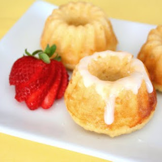 Mini Lemon Ricotta Bundt Cakes
