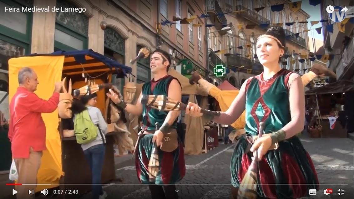 Vídeo - Feira Medieval de Lamego - 2019