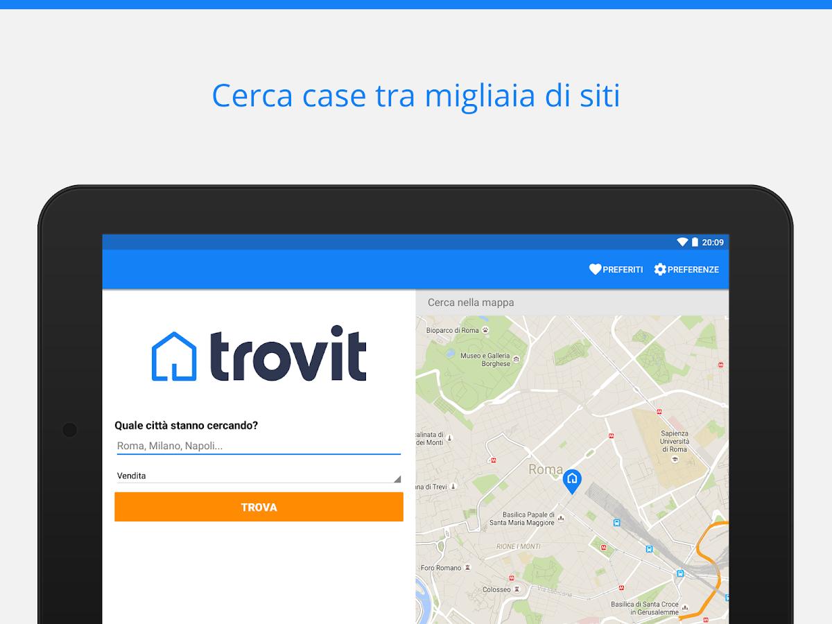 case vendita e affitto trovit app android su google play
