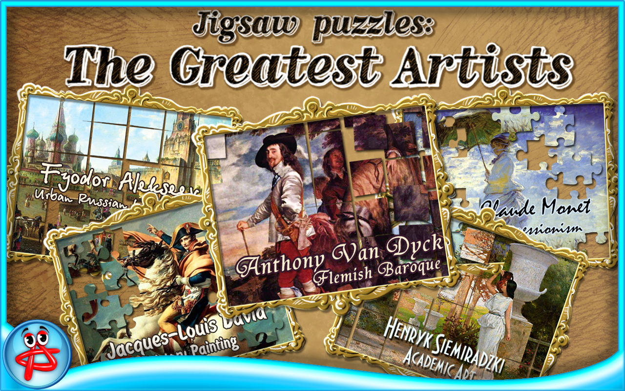 Greatest Artists:Jigsaw Puzzle- screenshot