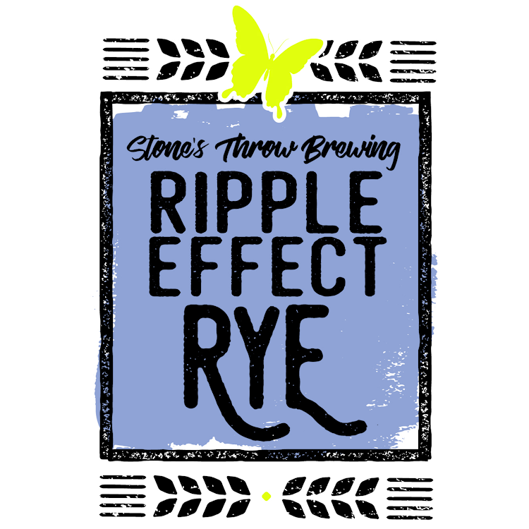 Logo of Stone's Throw Ripple Effect Rye