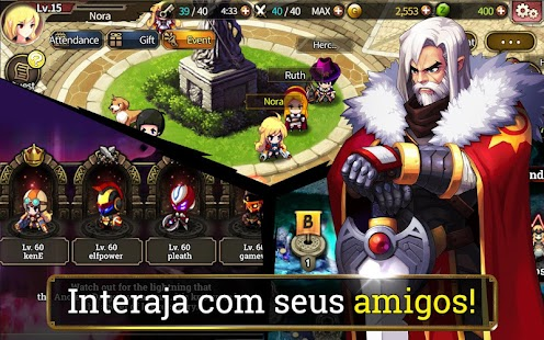 ZENONIA S: Fendas no Tempo Screenshot