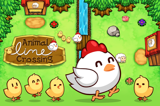Animal Line Crossing - Guide The Animals Home screenshot 1