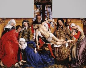 Photo: Deposition, c. 1435