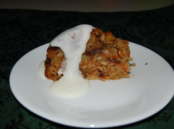 Steamed Date Pudding With Almond Cream Sauce Recipe