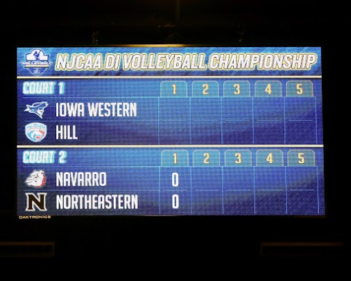 Navarro vs Northwestern V-ball