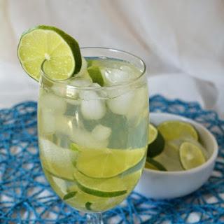 Iced Lime Green Tea.