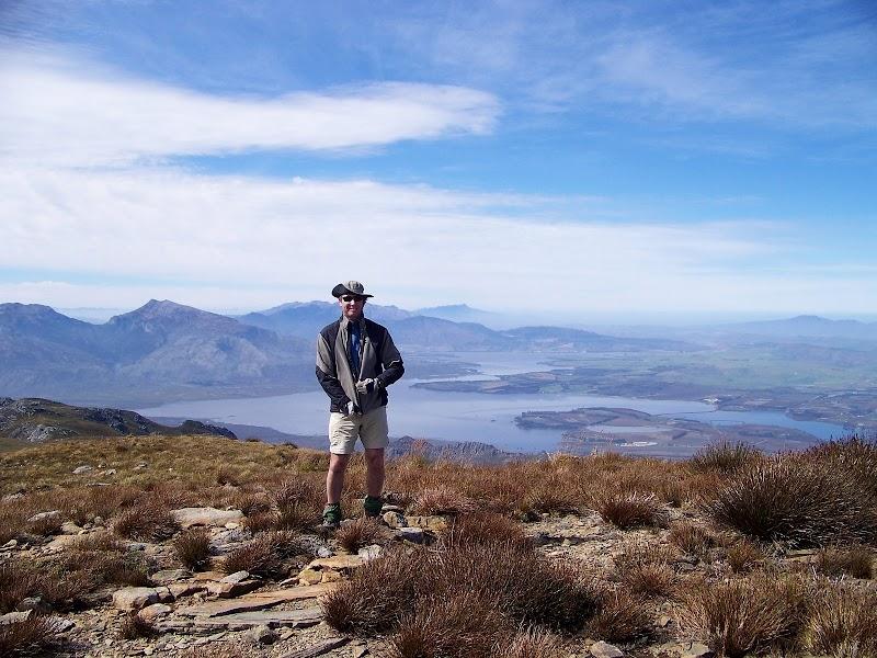 Moi on Victoria Peak