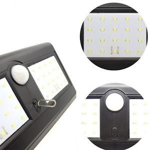Lampa solara dubla cu 40 LED cu senzor de miscare