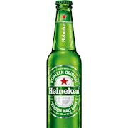 Heineken, 12oz bottled beer (5.0% ABV)