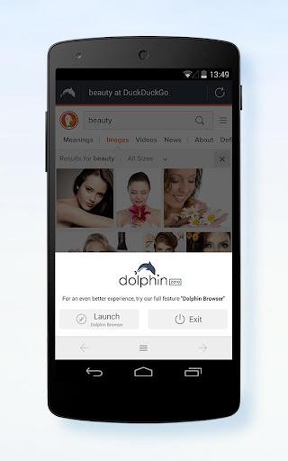 Dolphin Zero Incognito Browser screenshot 3