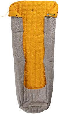 NEMO Siren 45, 850-fill DownTek Ultralight Sleeping Bag/Comforter: Granite, Regular alternate image 2