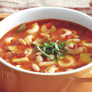 Veggie and Tortellini Soup