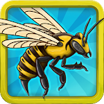 Angry Bee Evolution - Clicker Game Icon