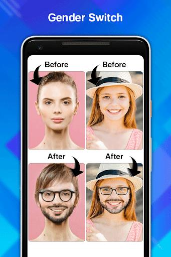 Face Age Editor App screenshot 5