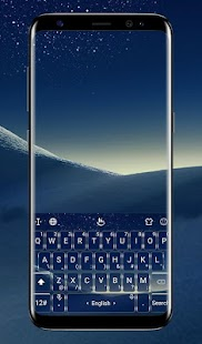 Galaxy S8 Plus Keyboard Theme - náhled