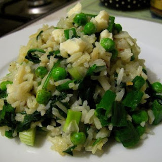 Green, Greener, Greeniest Risotto