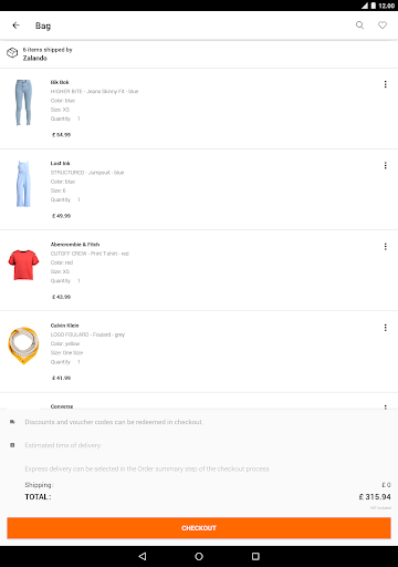 Zalando u2013 Shopping & Fashion 4.66.1 Screenshots 10