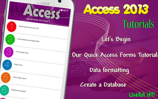 Learn MS Access 2013