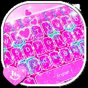 App Glitter Pink Heart Keyboard Theme APK for Windows Phone
