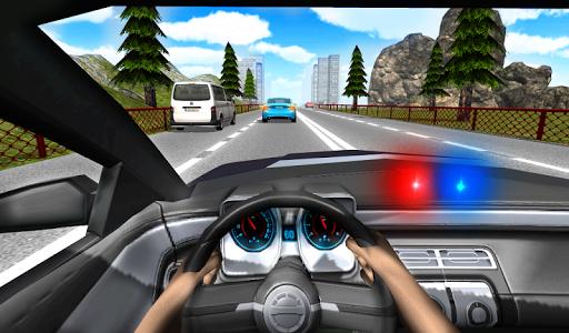 Police Driving In Car 4 screenshots 2