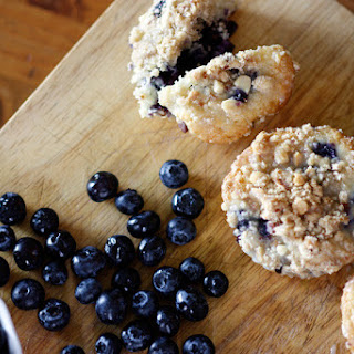 Mom's Classic Blueberry Muffins.