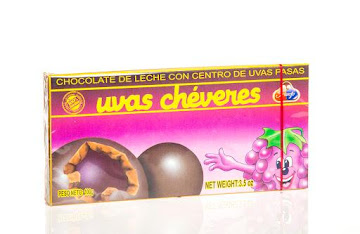 Chocolate Uvas Cheveres