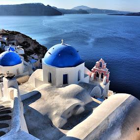 Ia Santorini, Greece by Costas Tsirgiotis - Landscapes Travel