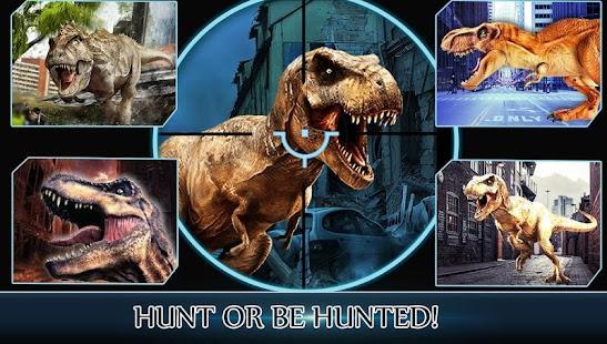 Carnivores: Dinosaur Hunter 3D City Attack - náhled