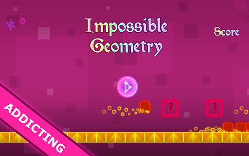 Dash: Impossible Geometry Test