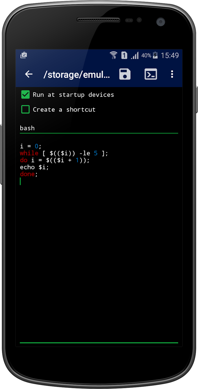 Qute Command Console Terminal Emulator Apk Cracked Free Download
