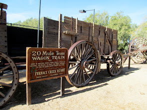 Photo: Wagon train
