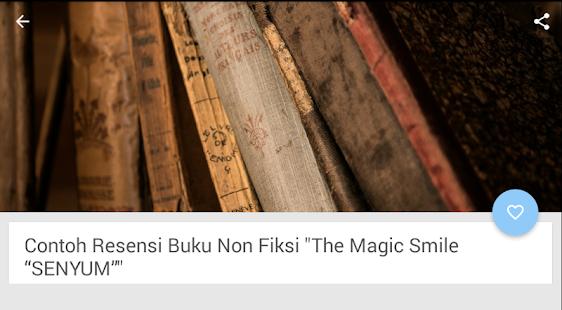 Contoh Resensi Buku Non Fiksi Mga App Sa Google Play