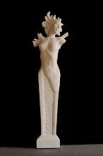 Photo: Klaudia Skwarczek - Przyścienna herma Inspirowana rzeźbą Icara Iry Reines