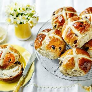 Mary Berry's hot cross buns.