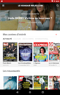 Le Kiosque presse Relay- screenshot thumbnail
