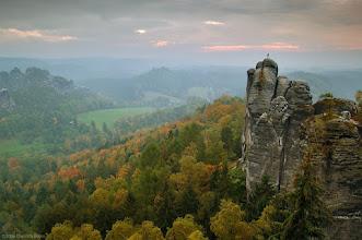 """Photo: National Park """"Saxony Switzerland"""", october 2006"""