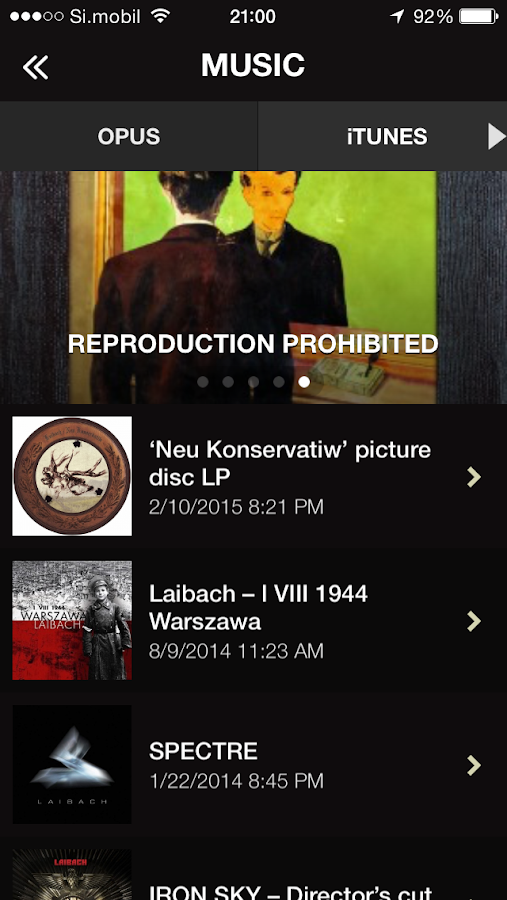 Laibach- screenshot