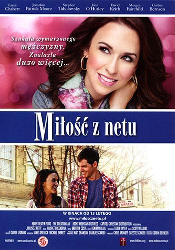 Przód ulotki filmu 'Miłość Z Netu'