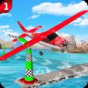 Thunder Airplane Skies Stunts 3D icon