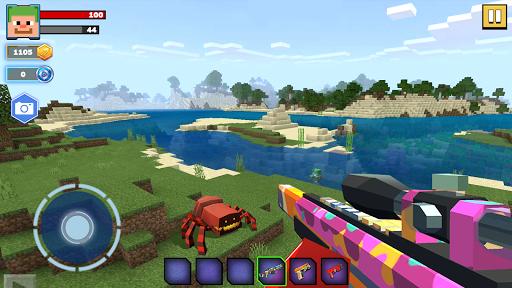 Fire Craft: 3D Pixel World apktreat screenshots 2