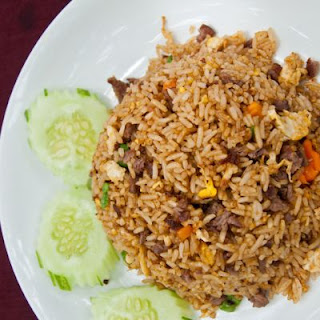 Mouth-Watering Tender Sirloin Beef & Egg Fried Rice